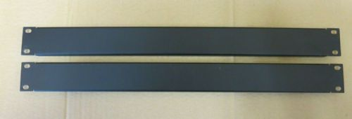 2 x Dell 3PF5Y 1U 19-Inch  Plain Solid Rack Mount Blanking Plate Panel Black